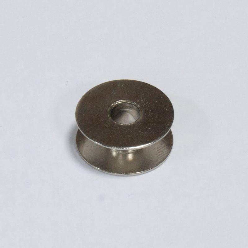 Шпулька для бытовых машин металл хром Д=21мм, В=9 мм