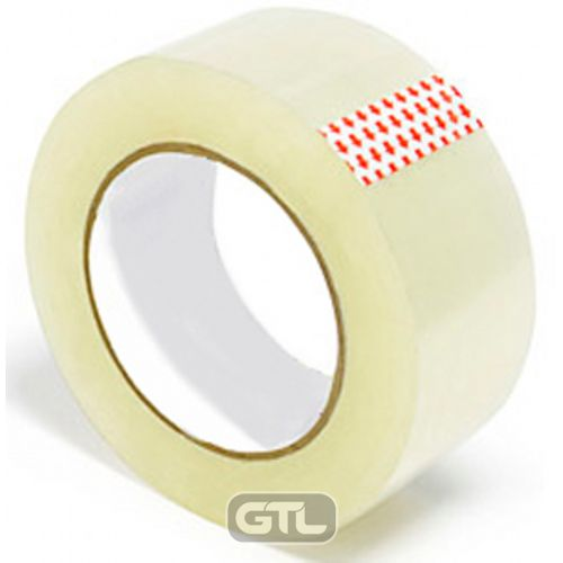 Скотч упаковочный 48 х 100 прозрачный 40 мкм