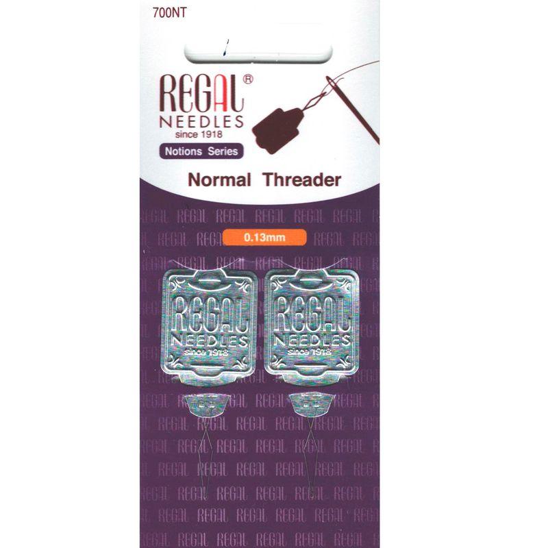Нитевдеватель металлический (Threader), 0, 13 мм, 700NT, (2шт)