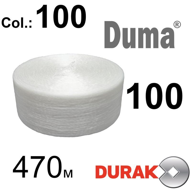 Нитки надміцні, Duma, поліестер, N100 (27 tex), довжина 470м. , колір 01(100)-566