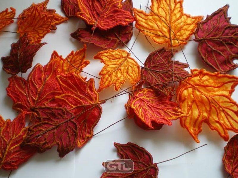 Осенние листики своими руками
