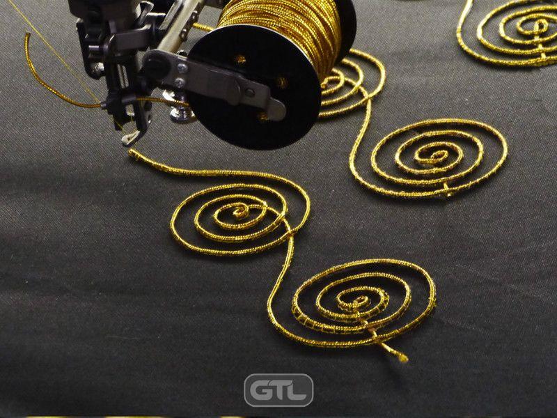 Вышивка шнуром