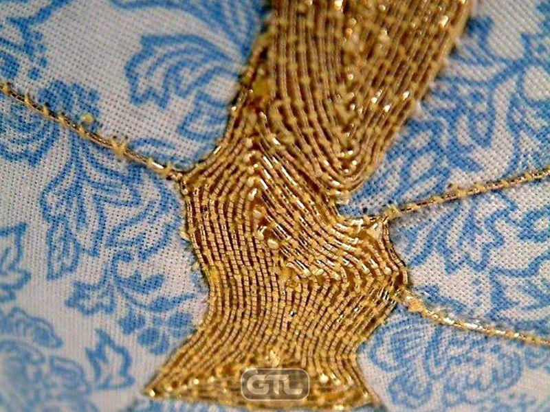 Текстильное кинцуги