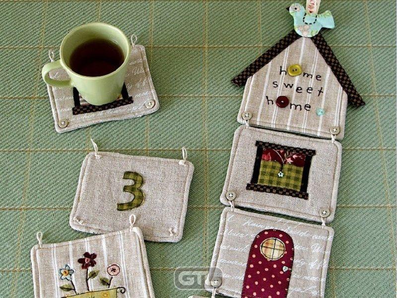 Шитье и вышивка для уюта в доме