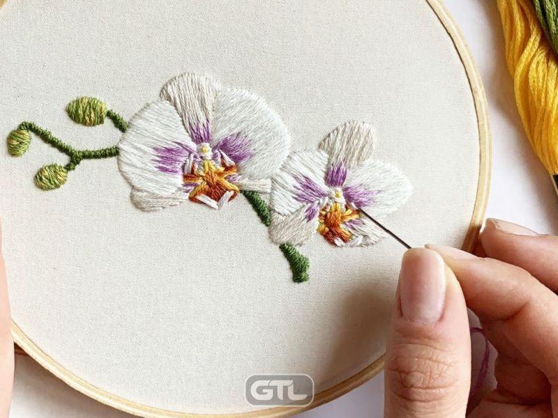 Мулине - нитки для ручной вышивки