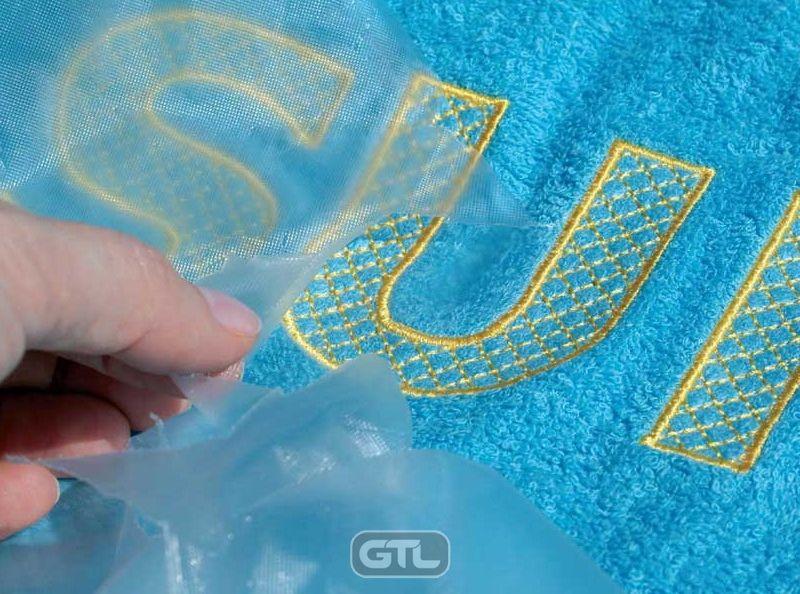 Термоплавкі стабілізатори для вишивки