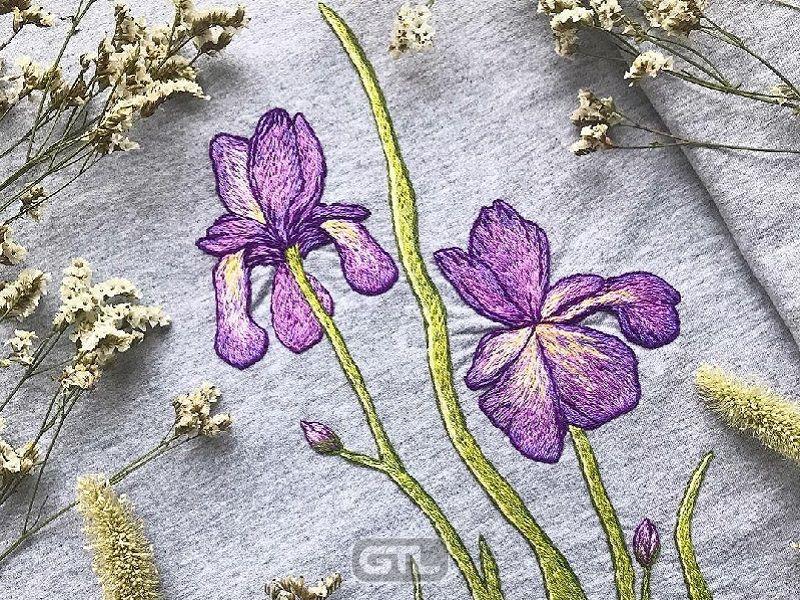 Как выбрать нитки для вышивания цветов