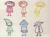 Діти і вишивка