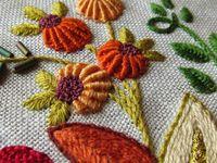 Как выбрать цвет ниток для вышивки