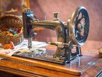 Машинная вышивка и шитье