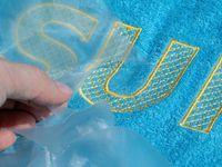 Терморазрушимые стабилизаторы для вышивки