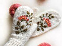 Вышивка для зимы