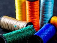 Кольорові нитки для шиття